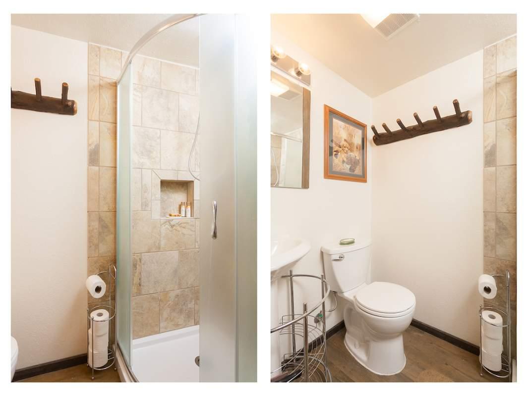 bathroom - 2 views