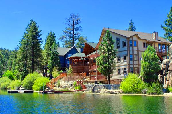 Lakefront homes for Big bear cabins lakefront