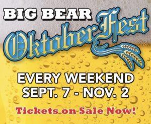 Big Bear Oktoberfest 2019