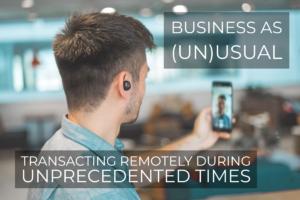 Transacting Remotely